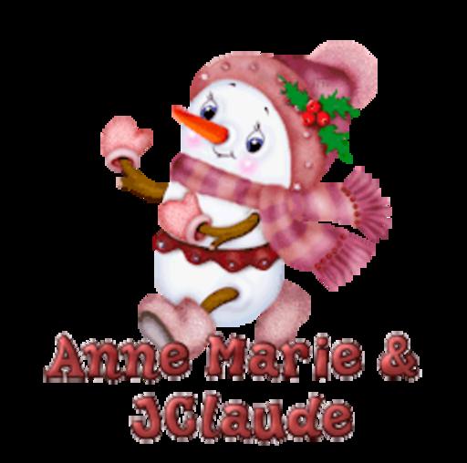 Anne Marie & JClaude - CuteSnowman