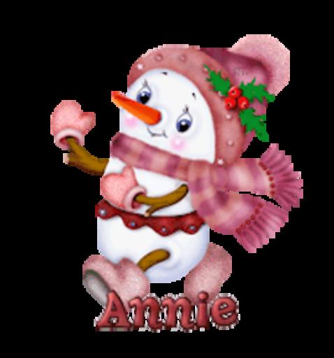 Annie - CuteSnowman