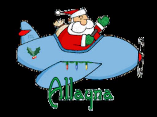 Allayna - SantaPlane