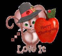 Love It - ThanksgivingMouse