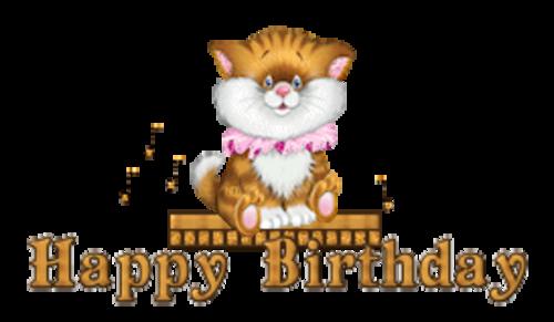 Happy Birthday - CuteKittenSitting