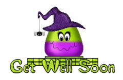 Get Well Soon - CandyCornWitch