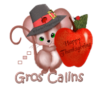 Gros Calins - ThanksgivingMouse