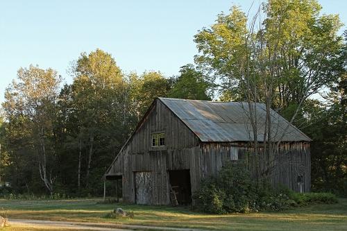 Shadowed Barn #2