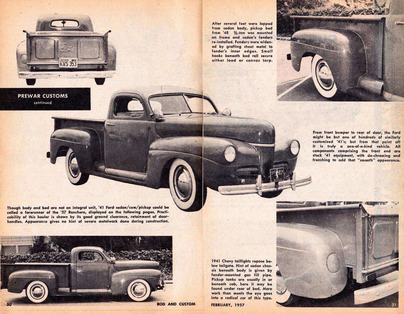 Jack Rushton 1941 Ford Sedan Turned Pick Up Album Rik Hoving Truck Front Fenders Custom Car Photo Archive Fotkicom And Video Sharing Made Easy
