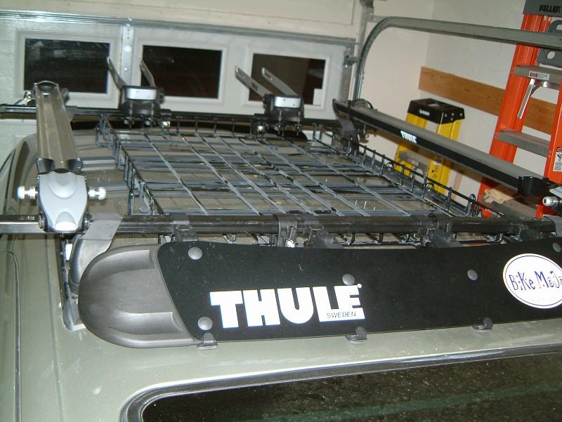 Thule Rack Now With Basket Pics 3rd Gen 4runner