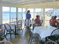 view of beach from Pepi's restaurant