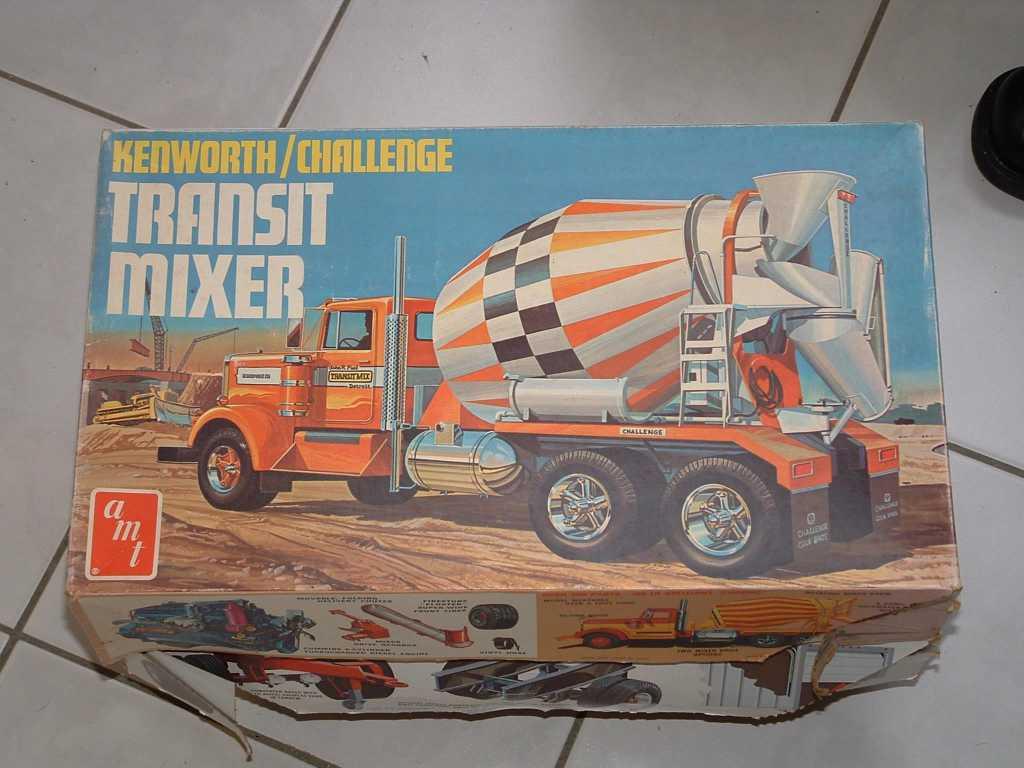 Kenworth Challenge mixer