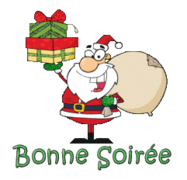Bonne Soiree - SantaDeliveringGifts