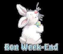 Bon Week-End - HippityHoppityBunny