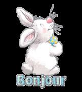 Bonjour - HippityHoppityBunny