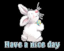 Have a nice day - HippityHoppityBunny