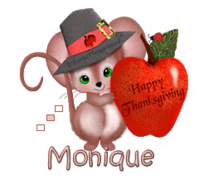 Monique - ThanksgivingMouse