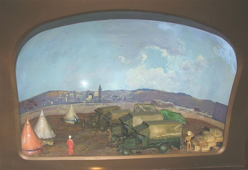 The Dump at Beersheba Diorama