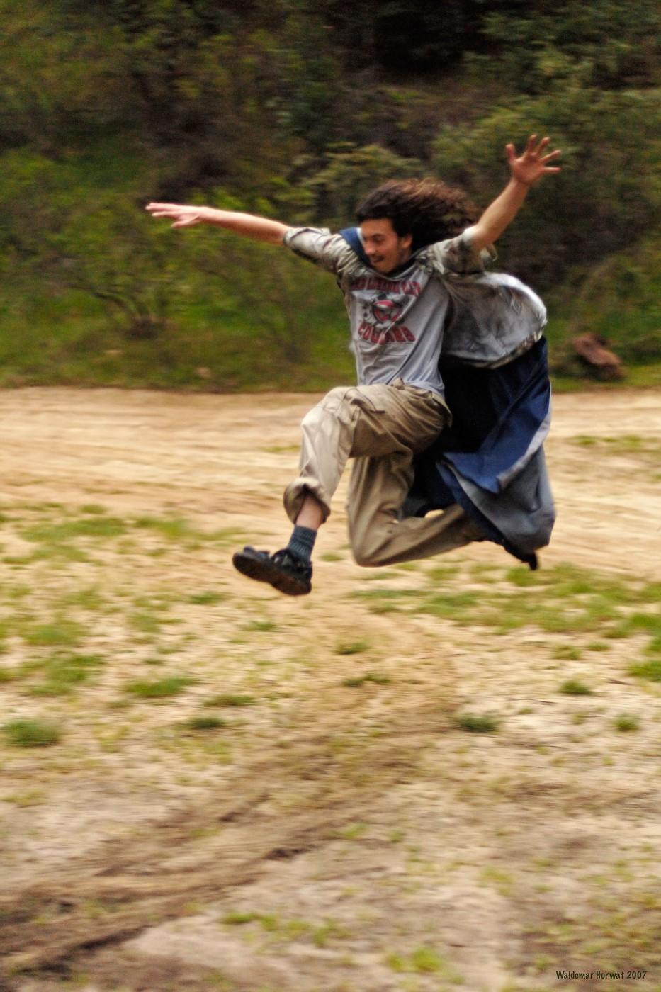 Leaping Dyami