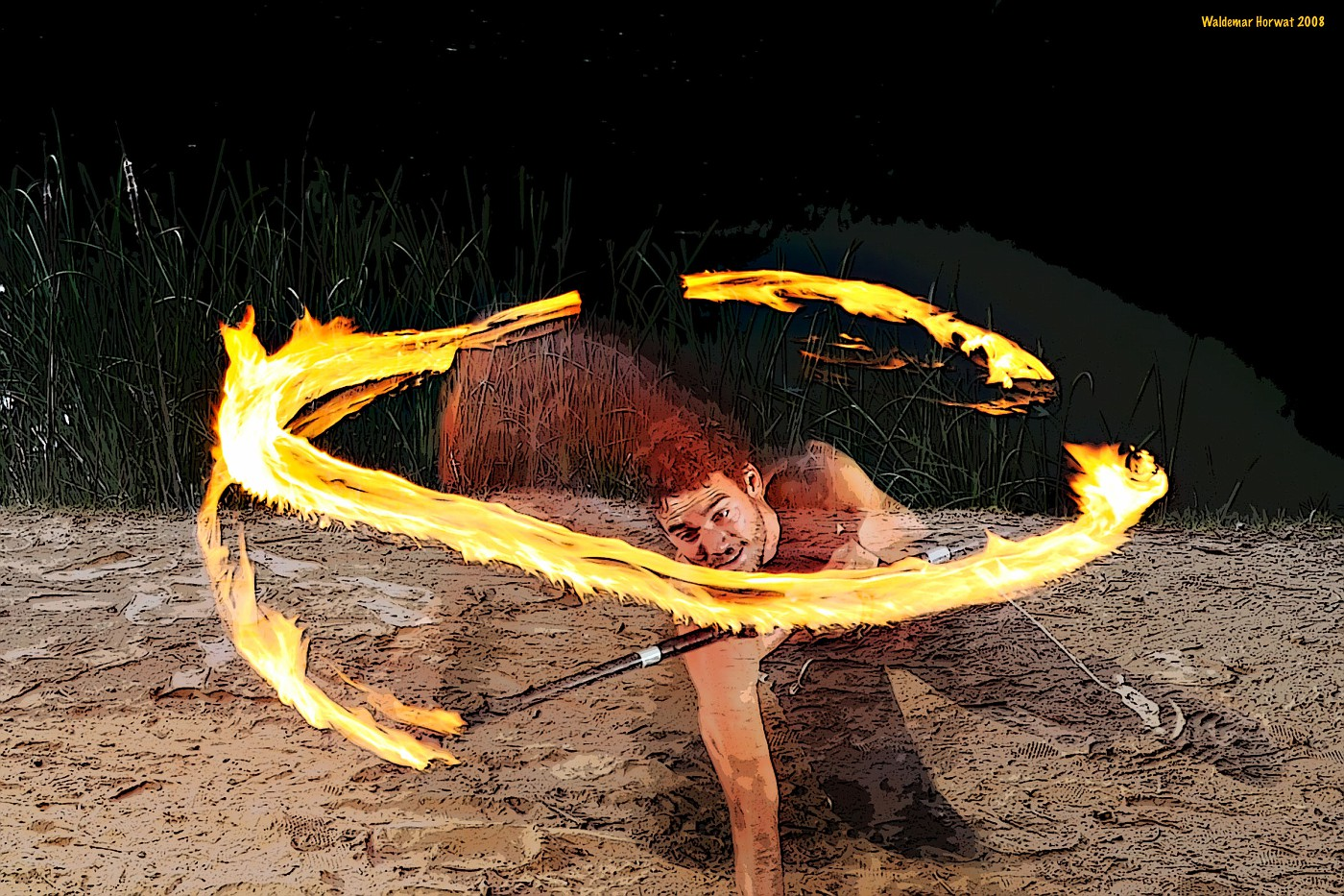 Fire Breakdance