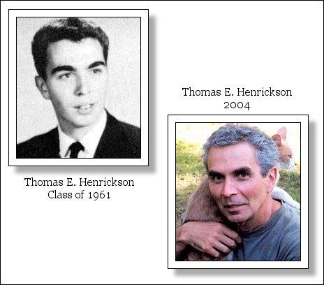 Thomas E  Henrickson Class of 1961