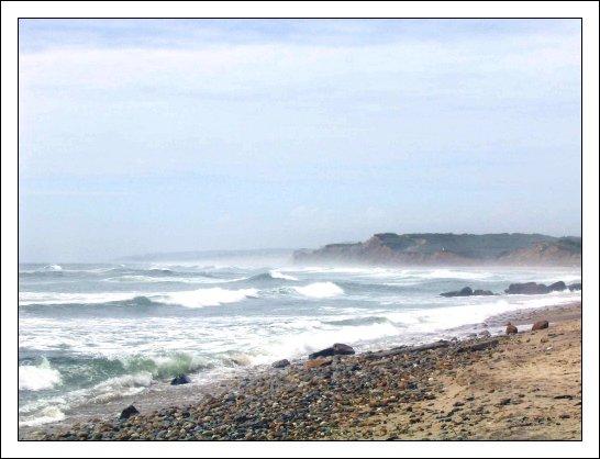 Surf's Up.. at Montauk, Long Island, New York.