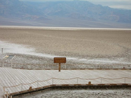 Salt basin at Badwater