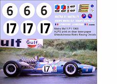 RF1-020 1968 Matra MS11