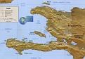 Carte d' Haiti