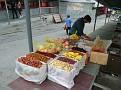 Vendors at the wall of China