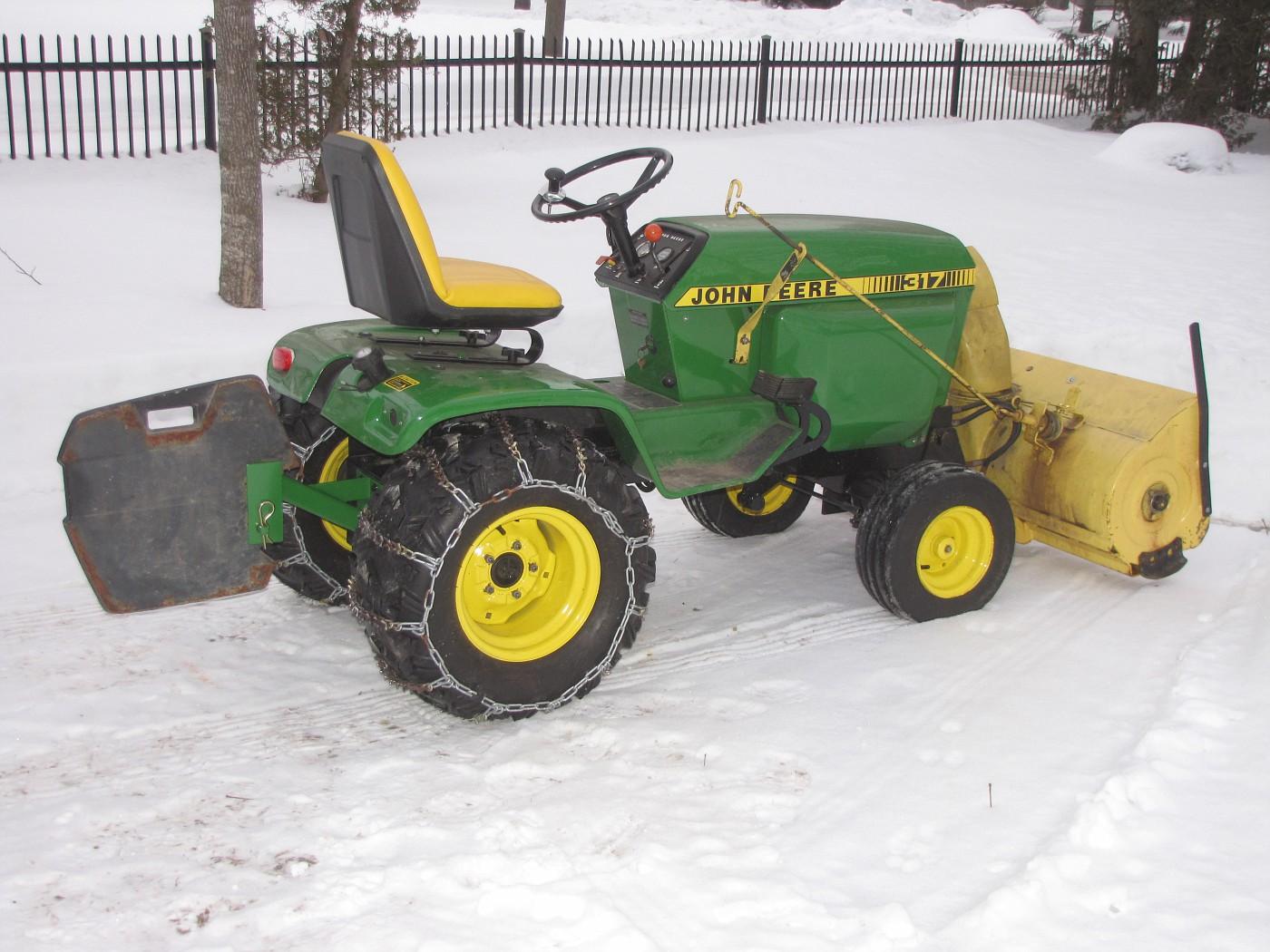 John Deere Tractor Counterweights : Mytractorforum the friendliest tractor forum and