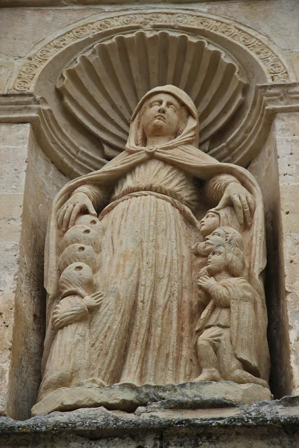 Богородица с подзащитными
