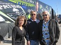 Sharon, Mel and Roland