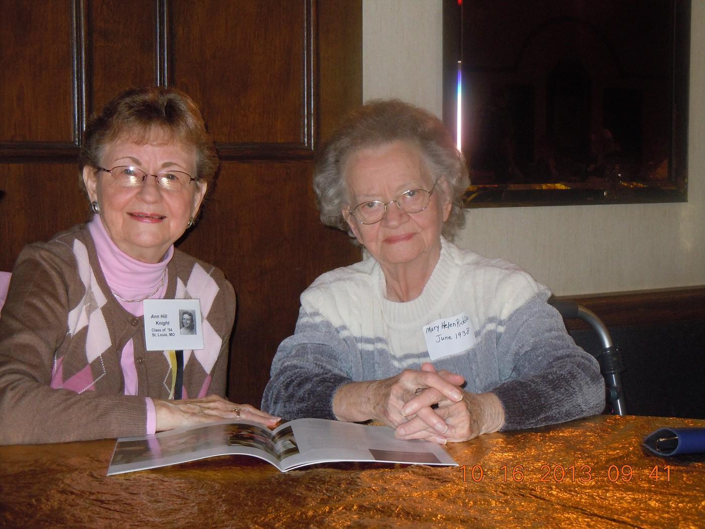 Ann Knight & Helen Riddle