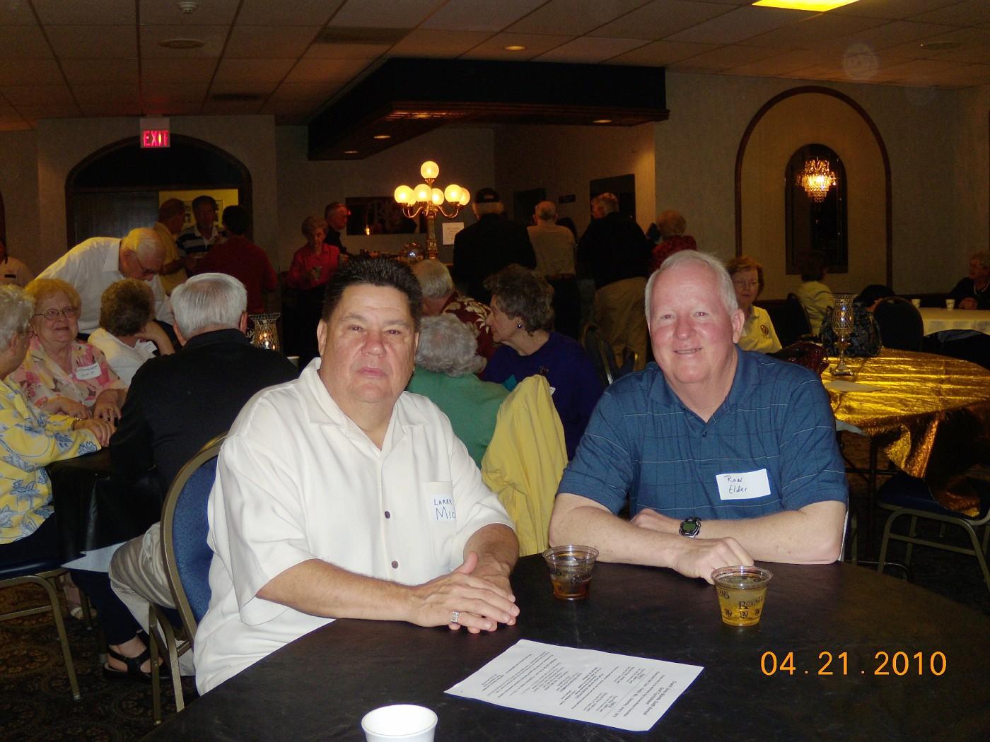 Larry Mickey, Ron Elder