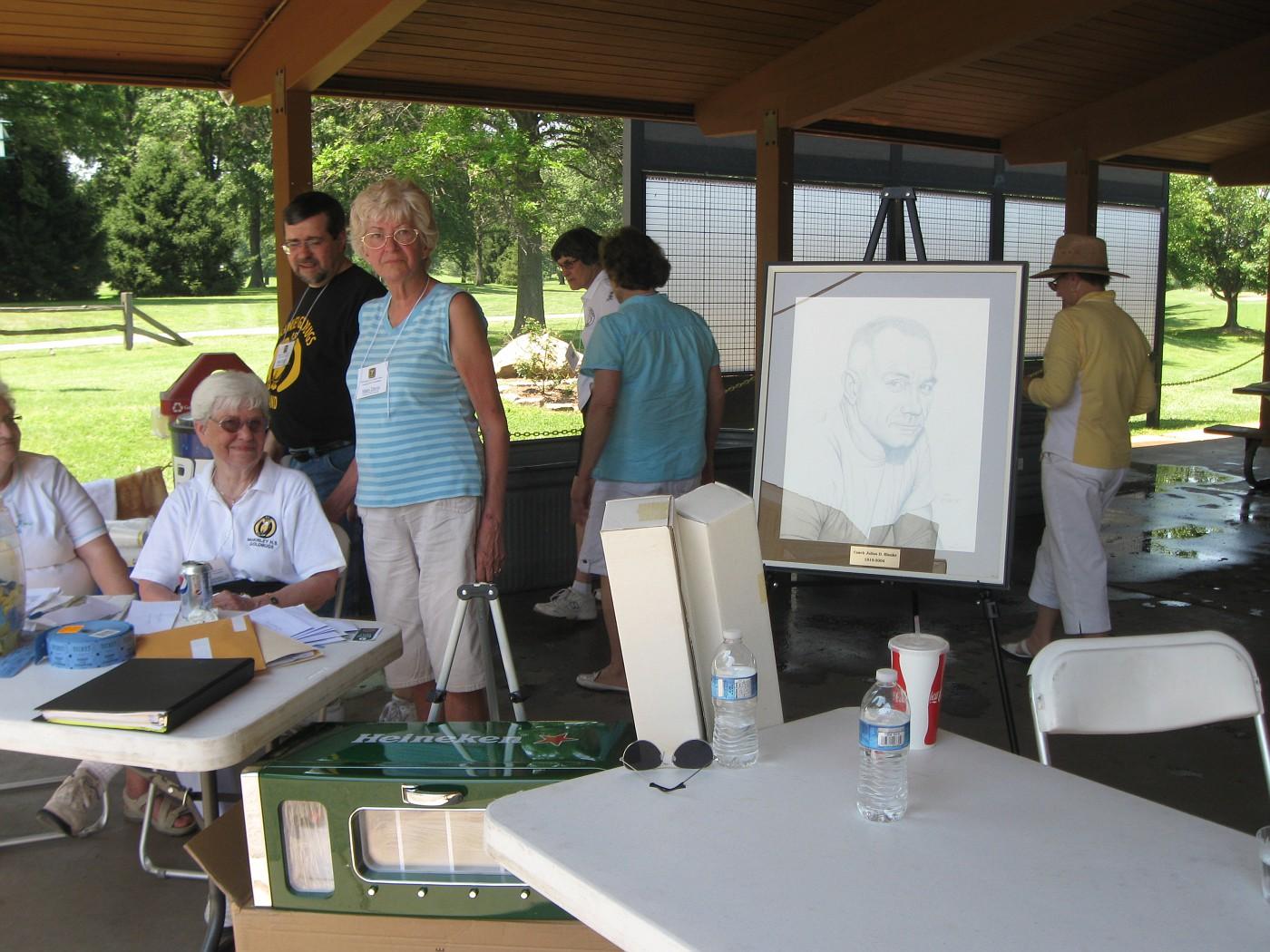 Marilyn Breeden, Bob Dorries, Mary Davis
