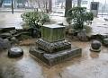 Gravestone in the Remains of Jisenji Temple