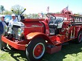 1917 Firetruck was not able to determine the brand of truck