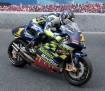Suzuki with rider RF