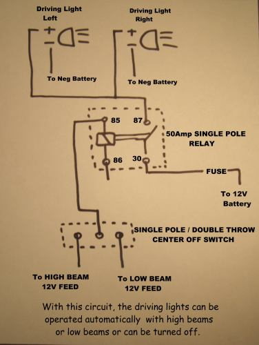 photo driving light relay circuit 2004 suzuki. Black Bedroom Furniture Sets. Home Design Ideas