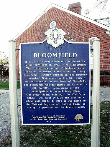 BLOOMFIELD - HISTORY