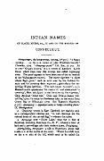 001 - INDIAN NAMES