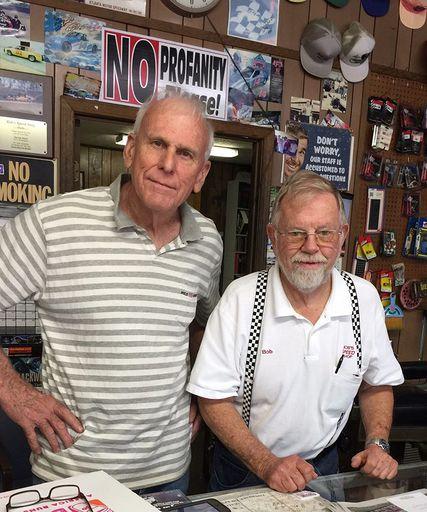 Bob with Bubba Cummings