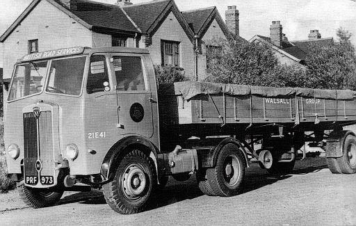 PRF973    1948 Maudslay   no. 21E41 of Walsall Group