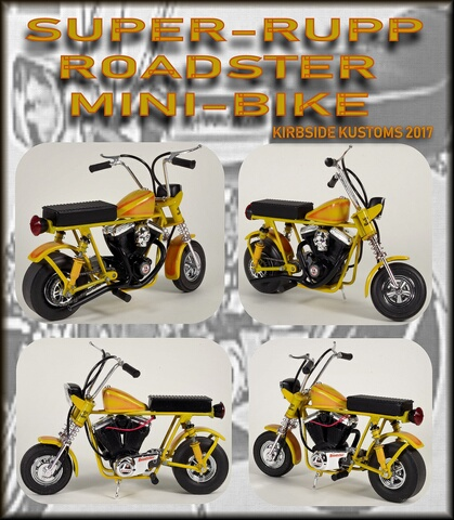 Mini bike collage