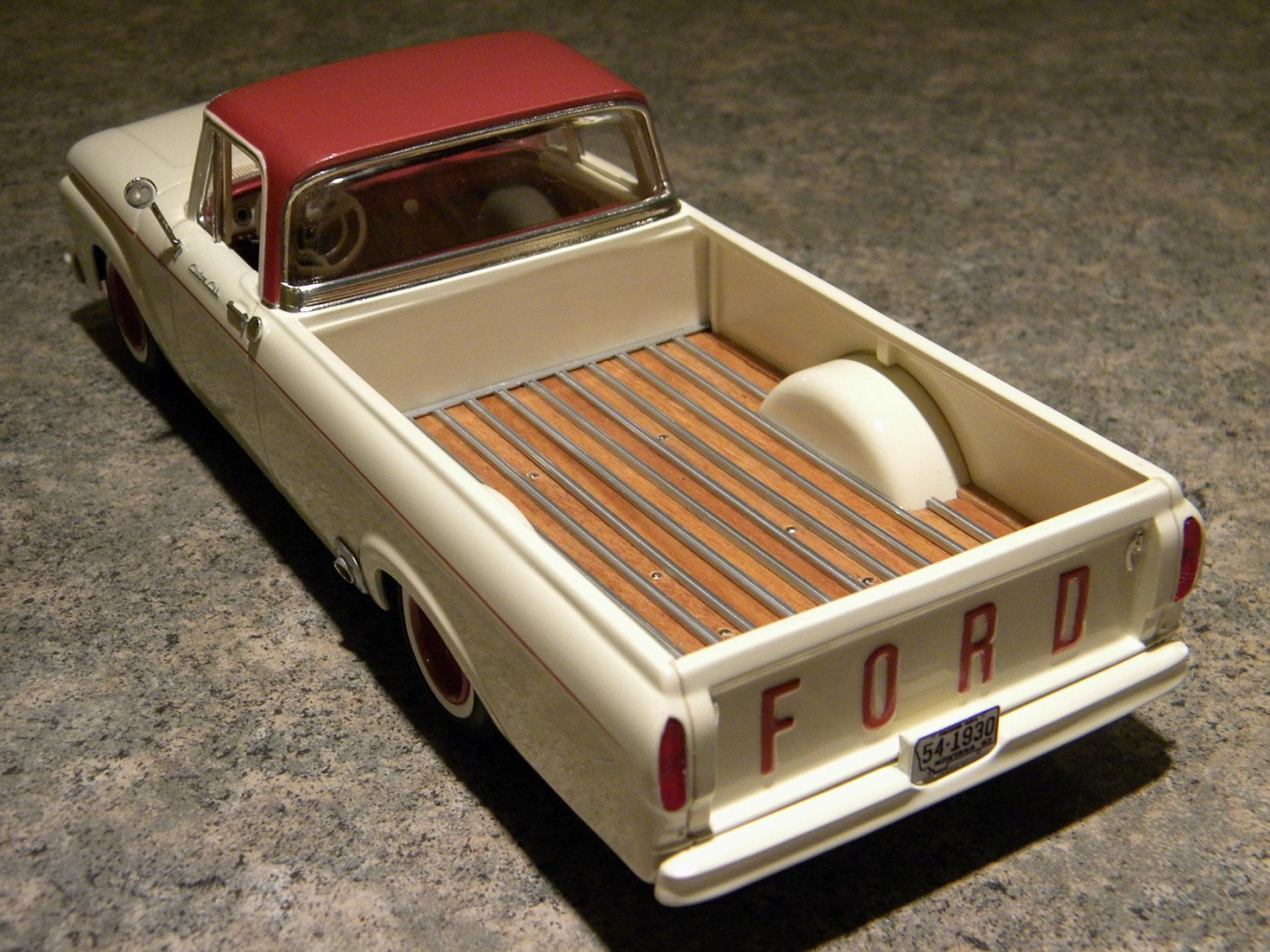'63 Ford bed 2