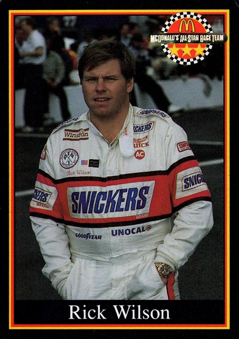 1991 Maxx McDonald's All-Star Race Team #23 E (1)