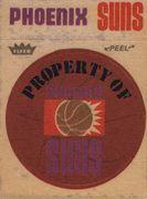 1974-75 Fleer Cloth Stickers Phoenix Suns (1)