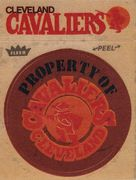 1974-75 Fleer Cloth Stickers Cleveland Cavaliers (1)