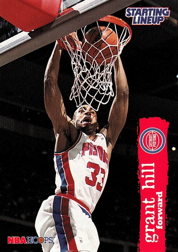 1996 Starting Lineup Grant Hill (1)