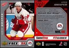 2007-08 EA NHL Faceoff #33