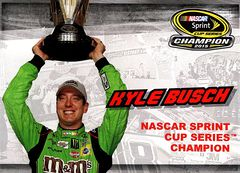 2016 Lionel NASCAR Authentics Kyle Busch Champion (1)