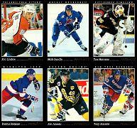 1993-94 Pinnacle Promo Sheet (1)