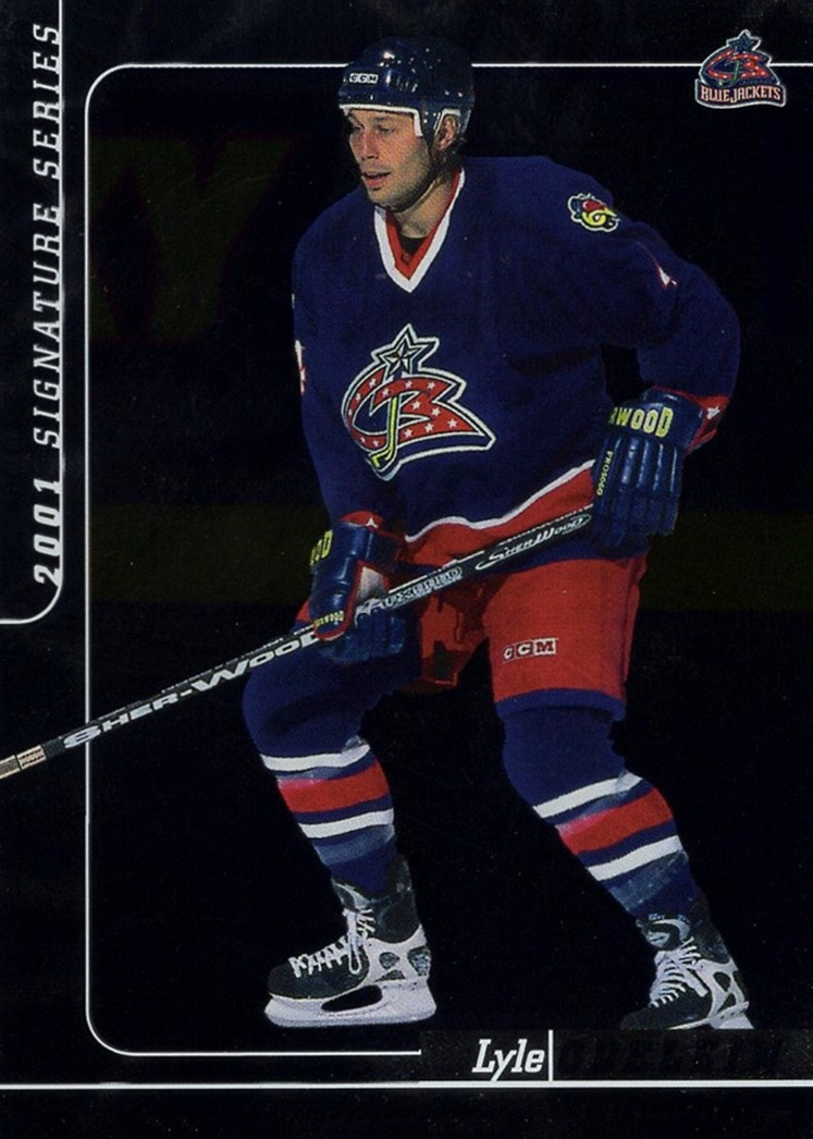 2000-01 Be a Player Signature Series #159 (1)